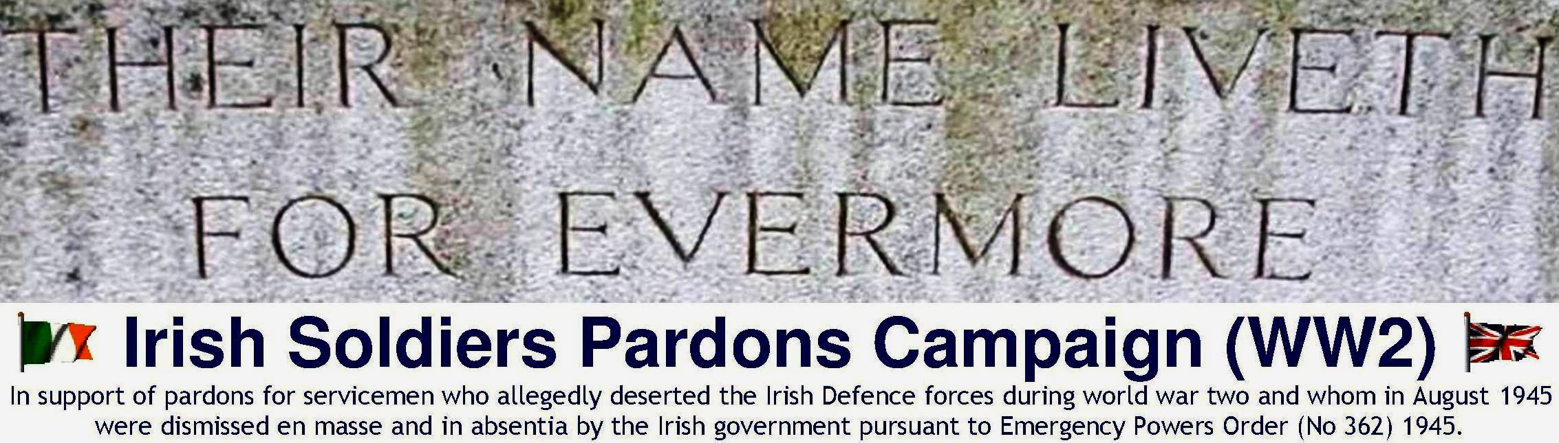 Irish Soldiers Pardons Campaign (WW2)